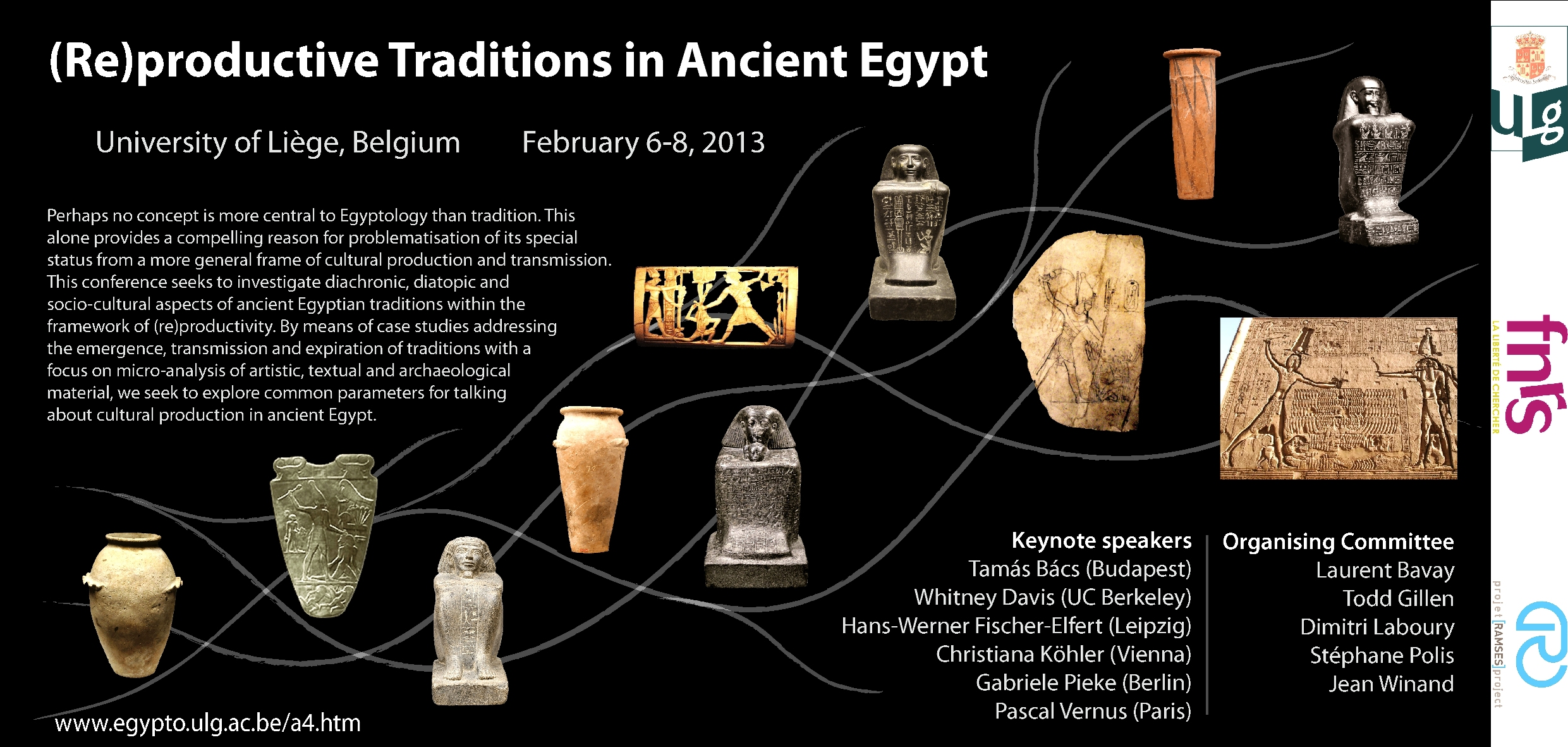 Service d'Égyptologie - Renseignements généraux